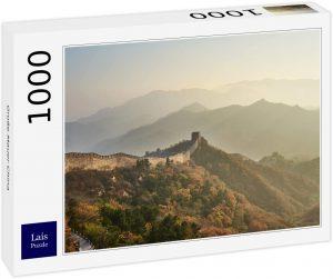 Los mejores puzzles de la Gran Muralla China - Puzzle de la Gran Muralla de 1000 piezas con fondo decorado