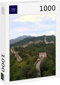 Los mejores puzzles de la Gran Muralla China - Puzzle de la Gran Muralla de 1000 piezas vertical
