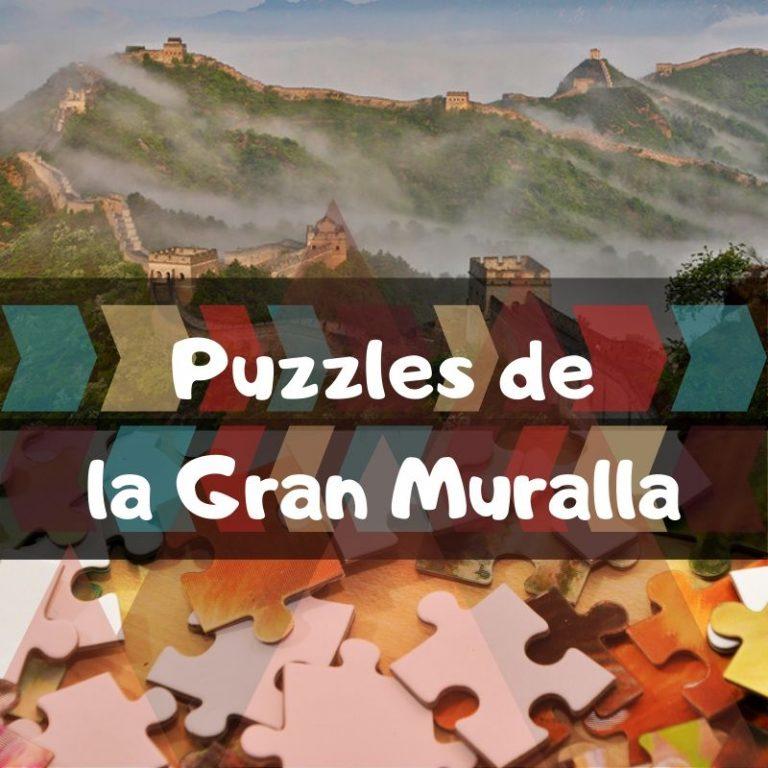 Los mejores puzzles de la Gran Muralla China