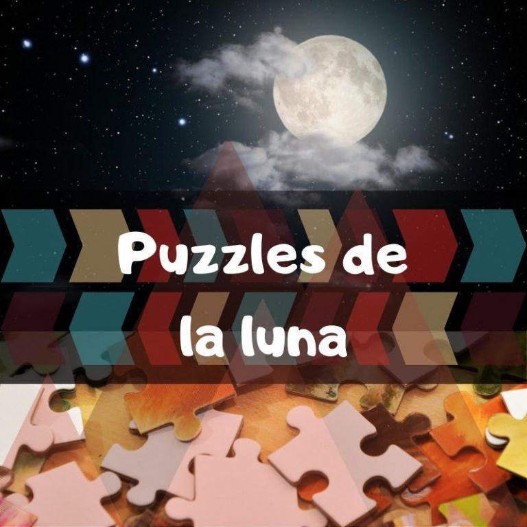 Los mejores puzzles de la luna