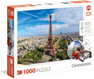 Los mejores puzzles de la Torre Eiffel- Puzzle de la Torre Eiffel de 1000 piezas de Clementoni