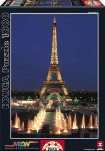 Los mejores puzzles de la Torre Eiffel- Puzzle de la Torre Eiffel de 1000 piezas de Educa