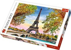 Los mejores puzzles de la Torre Eiffel- Puzzle de la Torre Eiffel de 1000 piezas de Trefl