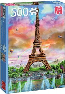 Los mejores puzzles de la Torre Eiffel- Puzzle de la Torre Eiffel de 500 piezas de Jumbo