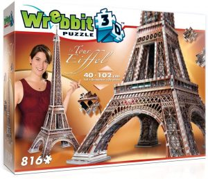 Los mejores puzzles de la Torre Eiffel- Puzzle de la Torre Eiffel en 3D de 816 piezas