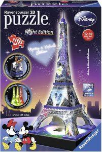Los mejores puzzles de la Torre Eiffel- Puzzle de la Torre Eiffel en 3D de Disney
