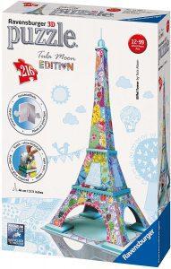 Los mejores puzzles de la Torre Eiffel- Puzzle de la Torre Eiffel en 3D de edición especial