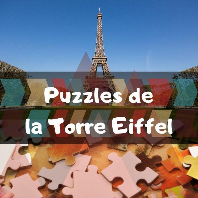 Los mejores puzzles de la torre Eiffel