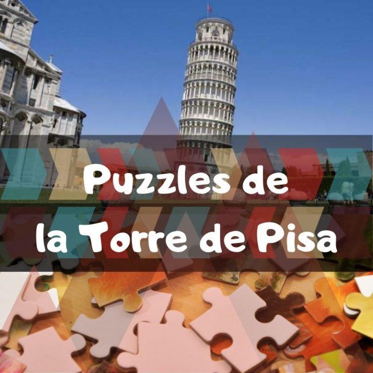 Los mejores puzzles de la torre de Pisa