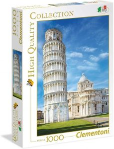 Los mejores puzzles de la torre de Pisa - Puzzle de 1000 piezas de la Torre de Pisa de Clementoni