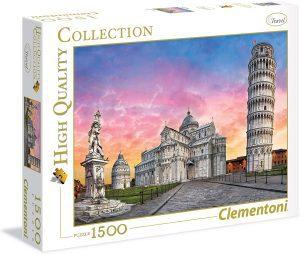 Los mejores puzzles de la torre de Pisa - Puzzle de 1500 piezas de la Torre de Pisa de Clementoni