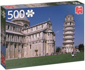 Los mejores puzzles de la torre de Pisa - Puzzle de 500 piezas de la Torre de Pisa de Jumbo