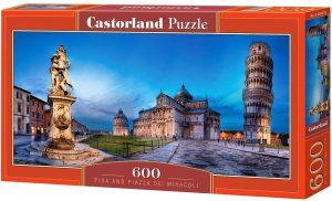 Los mejores puzzles de la torre de Pisa - Puzzle de 600 piezas de la Torre de Pisa de Castorland