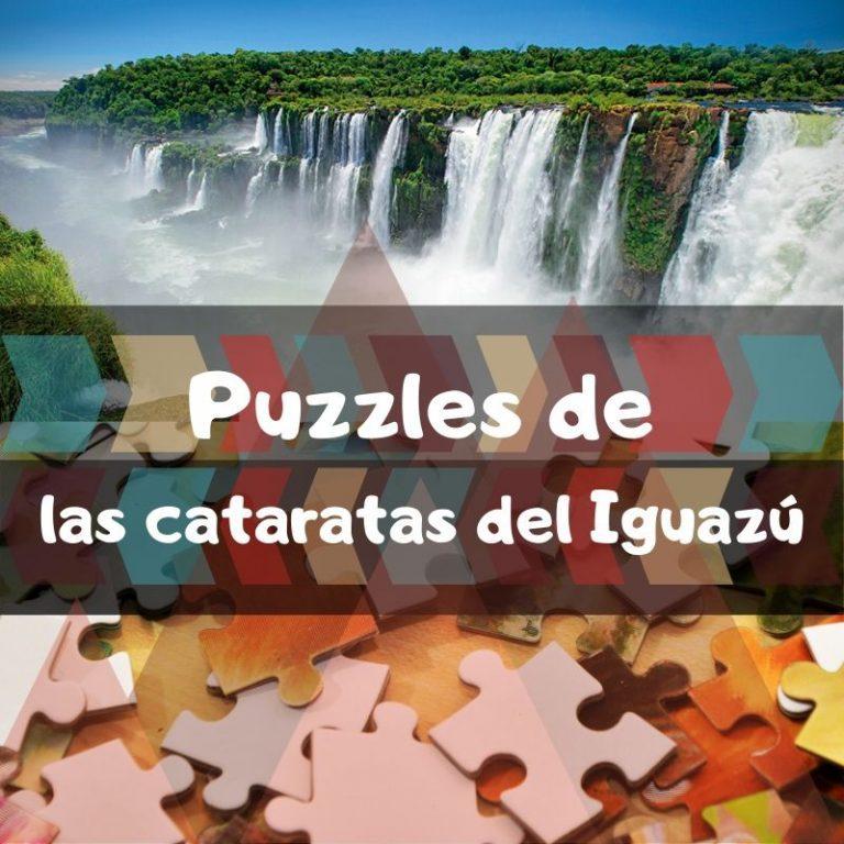 Los mejores puzzles de las cataratas del Iguazú