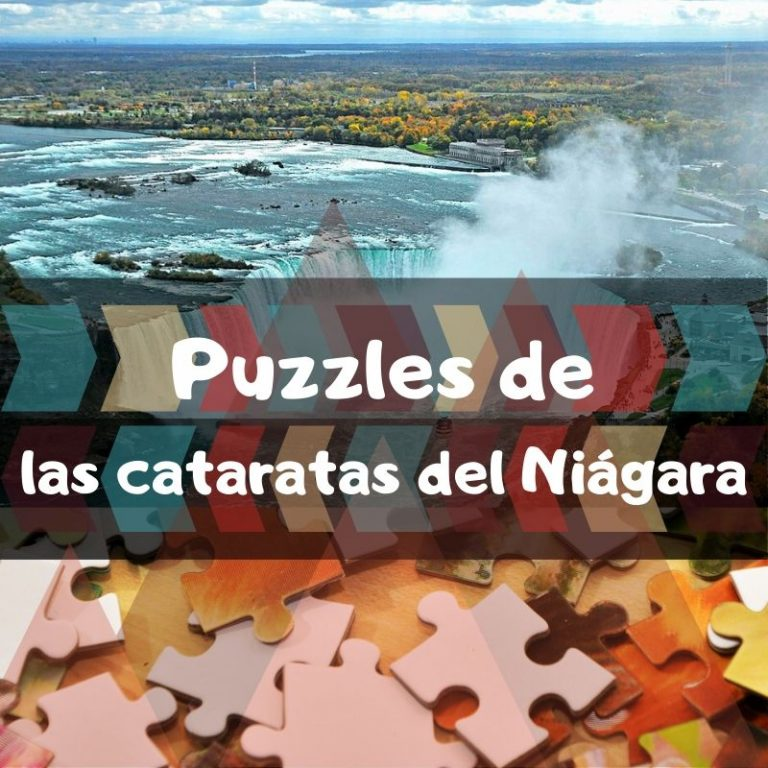 Los mejores puzzles de las cataratas del Niágara