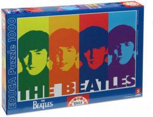 Los mejores puzzles de los Beatles - Puzzle de 1000 piezas de The Beatles POP ART de Educa