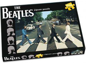 Los mejores puzzles de los Beatles - Puzzle de The Beatles Abbey Road de 1000 piezas