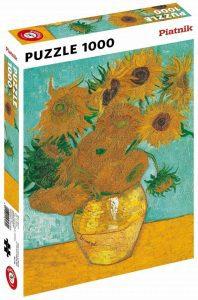 Los mejores puzzles de los girasoles - Puzzle de 1000 piezas de los Girasoles de Van Gogh de Piatnik