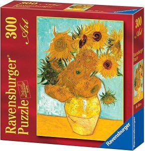 Los mejores puzzles de los girasoles - Puzzle de 300 piezas de los Girasoles de Van Gogh de Ravensburger