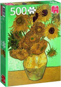 Los mejores puzzles de los girasoles - Puzzle de 500 piezas de los Girasoles de Van Gogh de Jumbo