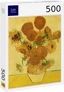 Los mejores puzzles de los girasoles - Puzzle de 500 piezas de los Girasoles de Van Gogh de Lais