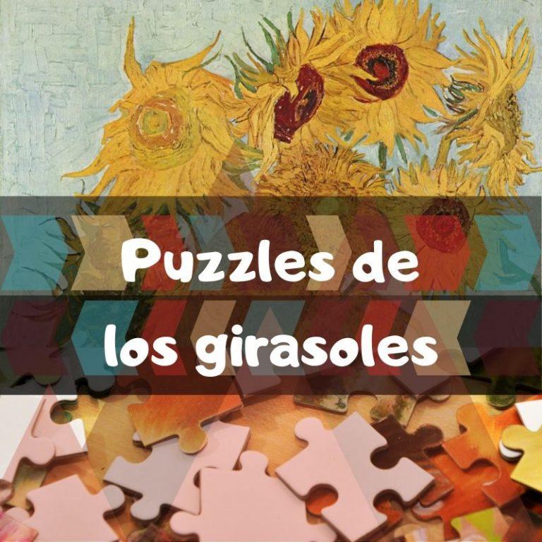 Los mejores puzzles de los girasoles de Van Gogh