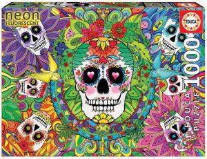 Los mejores puzzles de máscaras México - Puzzle de 1000 piezas de Máscaras mexicanas tradicionales