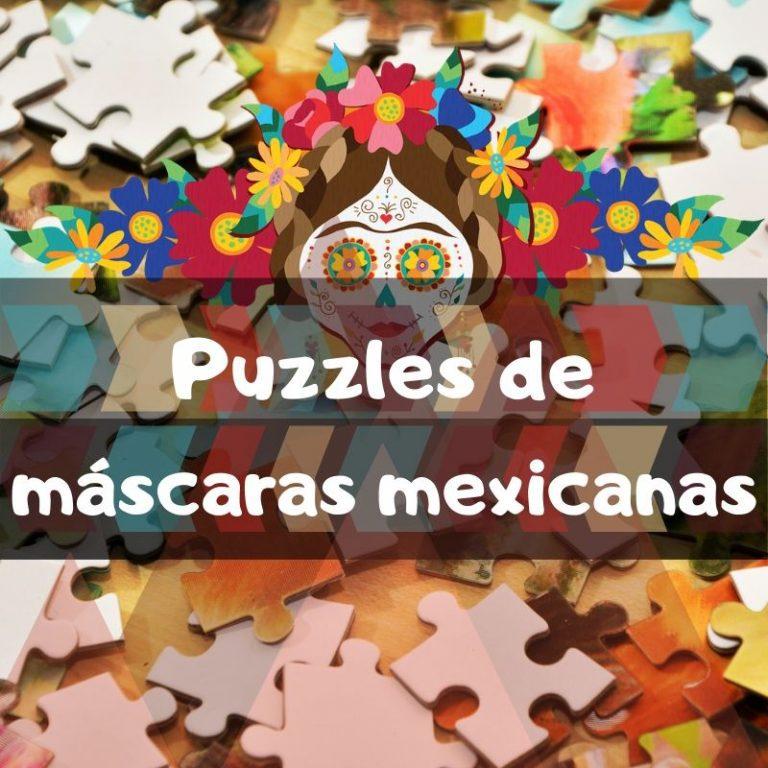 Lee más sobre el artículo Los mejores puzzles de máscaras mexicanas del día de los muertos