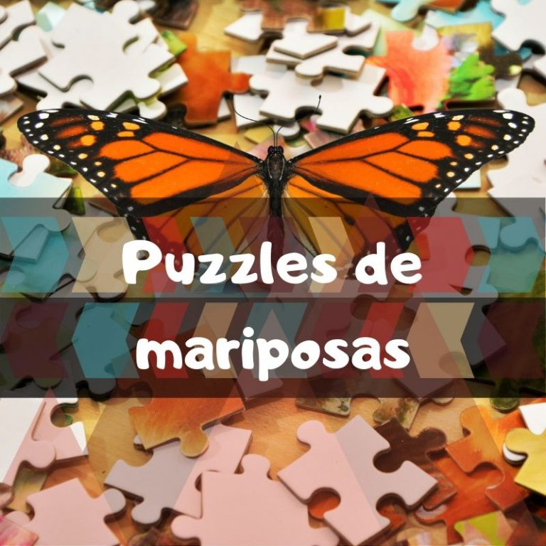Los mejores puzzles de mariposas