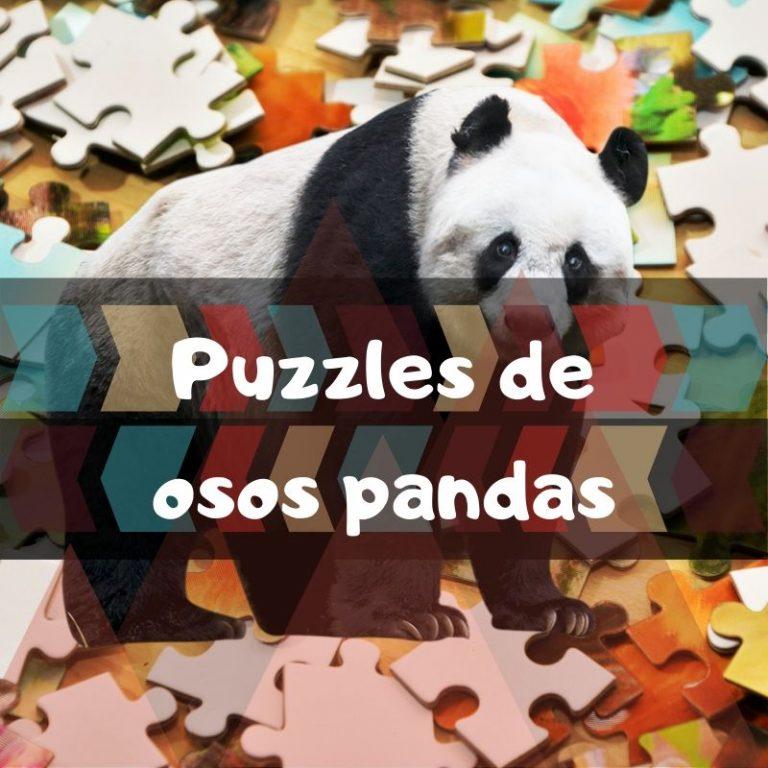 Los mejores puzzles de osos panda
