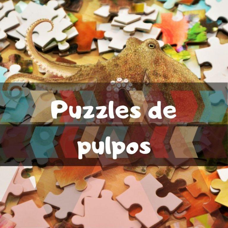 Los mejores puzzles de pulpos