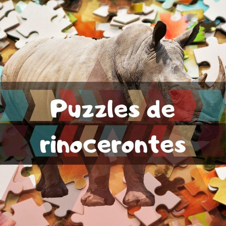 Los mejores puzzles de rinocerontes