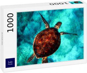 Los mejores puzzles de tortugas - Puzzle de 1000 piezas de tortuga marina