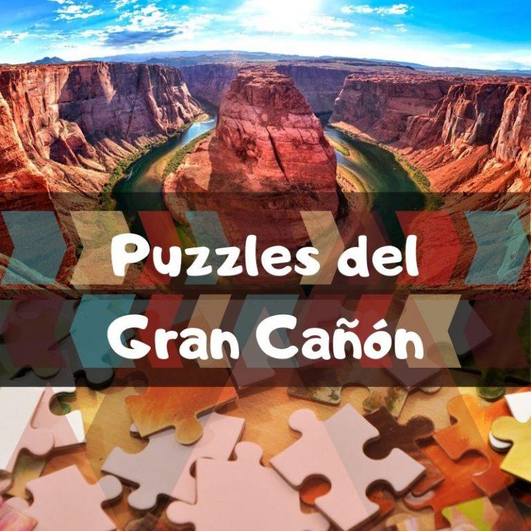 Los mejores puzzles del Gran Cañón del Colorado