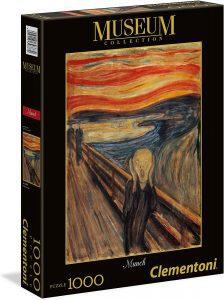 Los mejores puzzles del Grito de Munch - Puzzle de 1000 piezas del Grito de Munch de Clementoni