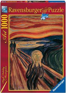 Los mejores puzzles del Grito de Munch - Puzzle de 1000 piezas del Grito de Munch de Ravensburger