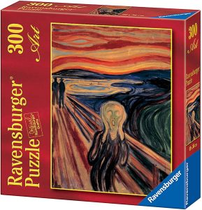 Los mejores puzzles del Grito de Munch - Puzzle de 300 piezas del Grito de Munch