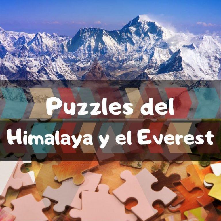 Los mejores puzzles del Himalaya y el monte Everest