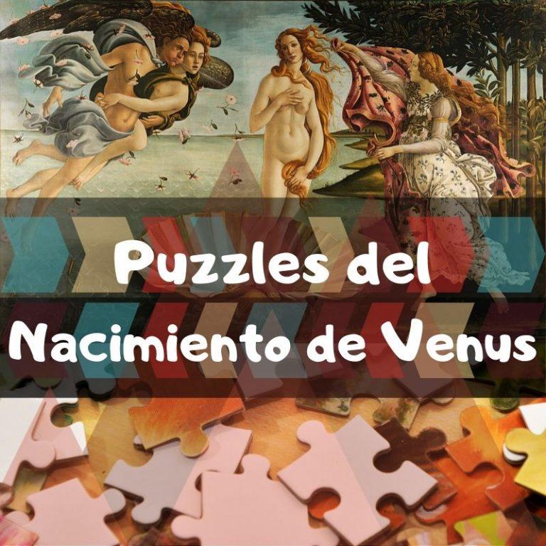 Los mejores puzzles del nacimiento de Venus de Sandro Botticelli