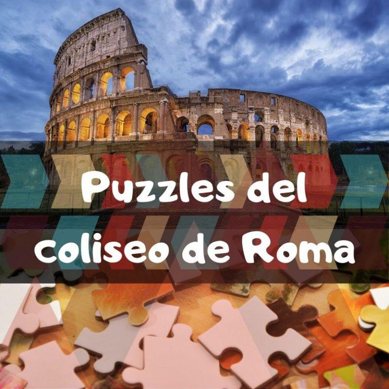 Los mejores puzzles del coliseo de Roma