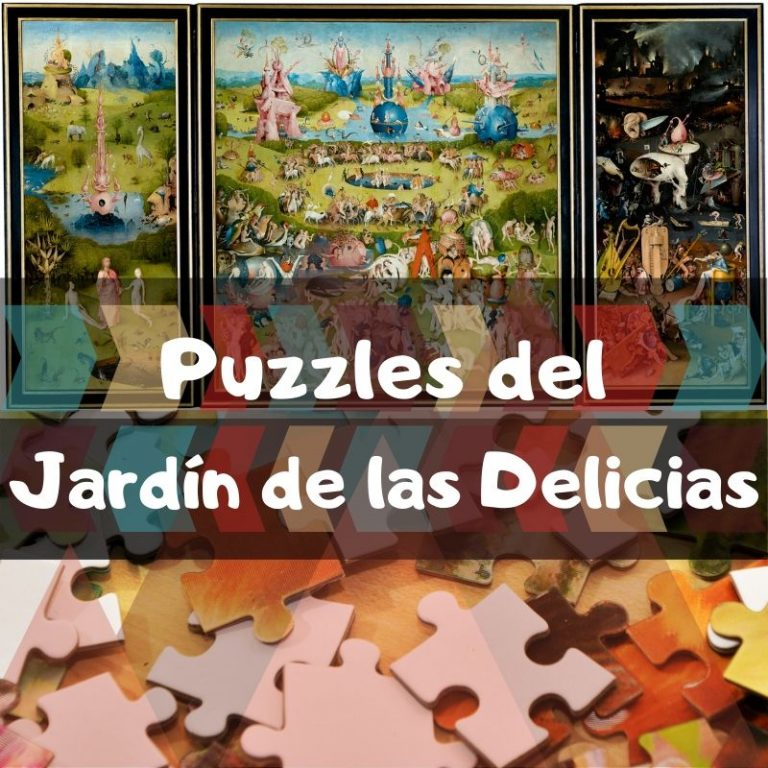 Los mejores puzzles del Jardín de las Delicias del Bosco