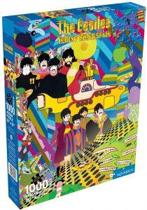 Puzzle de Beatles Yellow Puzzle de 1000 piezas de Aquarius - Los mejores puzzles de los Beatles - Puzzles de los Beatles