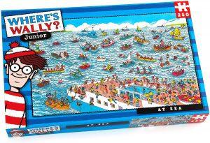 Puzzle de Donde esta Wally en el mar de 250 piezas - Los mejores puzzles de Donde esta Wally