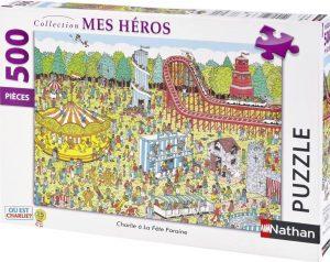 Puzzle de Donde esta Wally en la feria de 500 piezas - Los mejores puzzles de Donde esta Wally