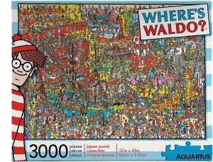 Puzzle de Donde esta recopilacion de 3000 piezas - Los mejores puzzles de Donde esta Wally