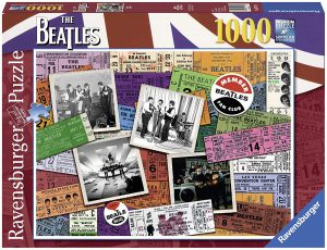 Puzzle de Los Beatles exclusivo de 1000 piezas de Ravensburger - Los mejores puzzles de Los Beatles - Puzzle de música