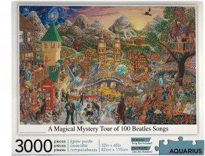 Puzzle de los Beatles de 3000 piezas de Aquarius - Los mejores puzzles de los Beatles - Puzzles de los Beatles