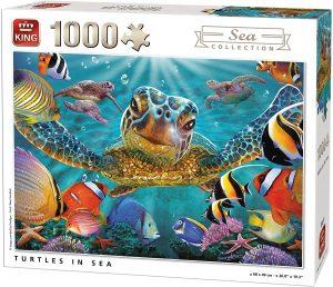 Puzzle de tortuga de 1000 piezas de Heye - Los mejores puzzles de tortugas