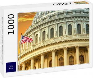Puzzle de vistas en Washington DC de 1000 piezas de Lais - Los mejores puzzles de Washington