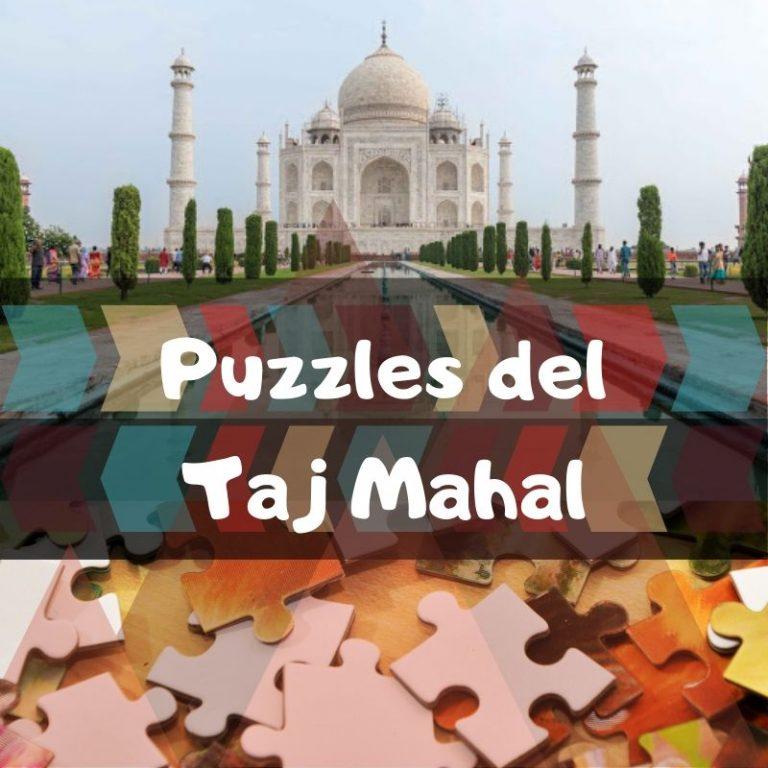 Los mejores puzzles del Taj Mahal